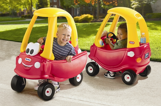 Little Tikes Cozy Coupe Red-Yellow photo