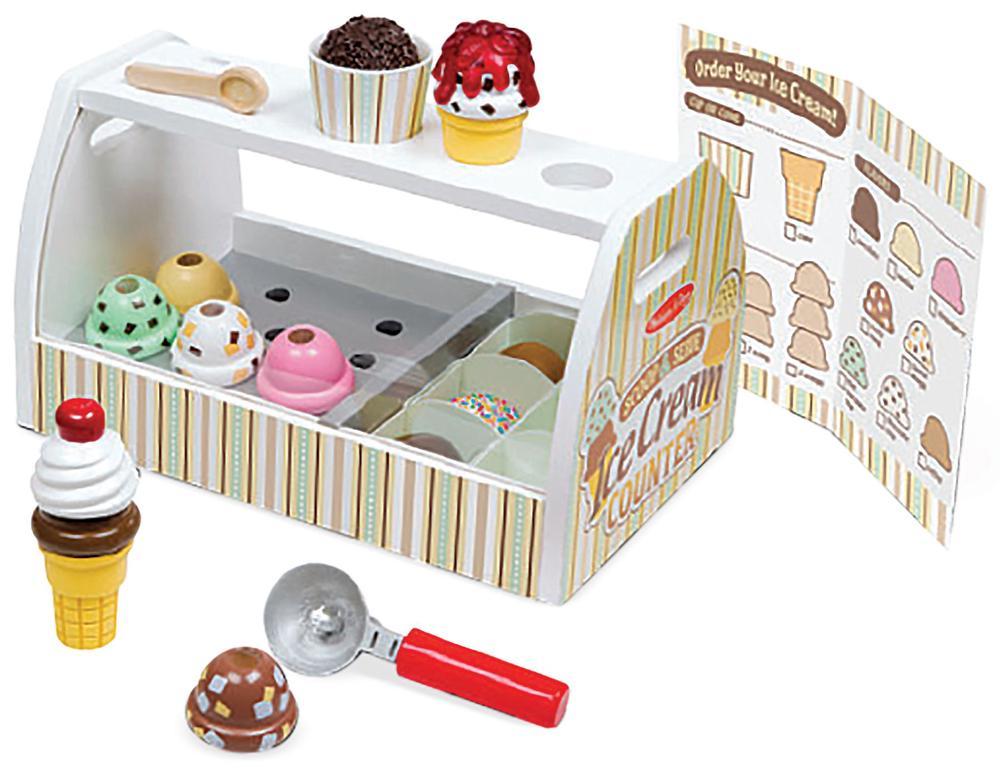 Ice cream counter photo